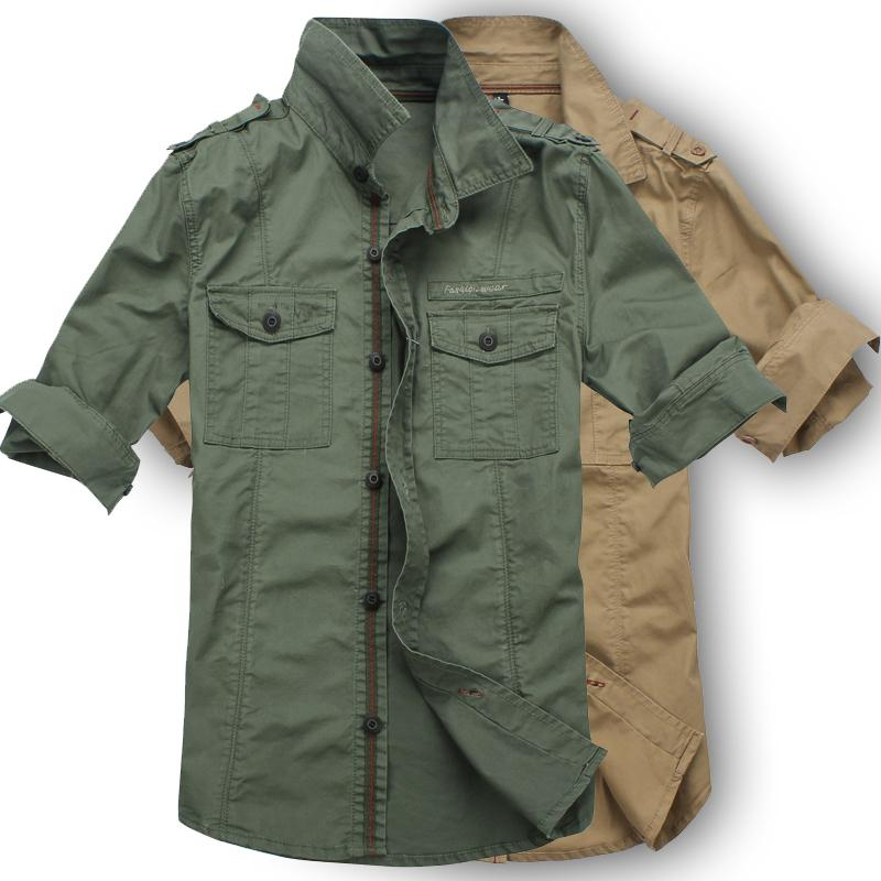 Camisas para Hombre   Ropa de moda hombre, Ropa militar