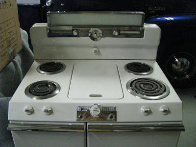 Electric Tappan Retro Stove Stove With Griddle Tappan