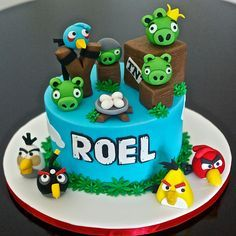 Image Result For Angry Bird Cakes