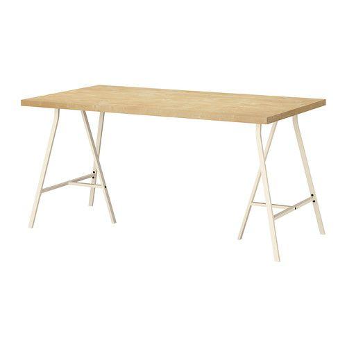 Lack Salontafel Berkenpatroon.Linnmon Lerberg Table Black Brown Gray 59x29 1 2 Ikea