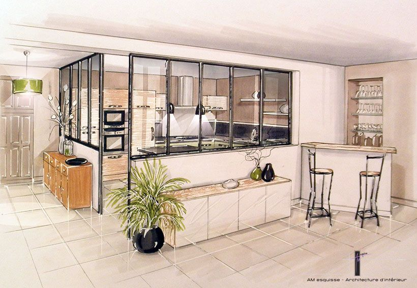 Amenagement et decoration d interieur 8 plan for Amenagement et decoration