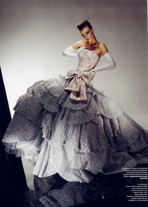 Bling Diamond Wedding Dress