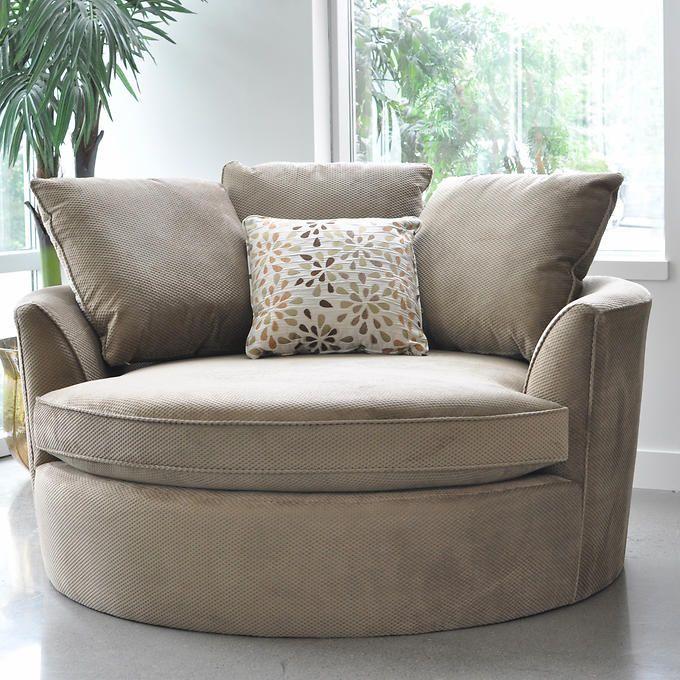 Costco Furniture Chairs: Sofas To Go Cuddler Chair (Costco Canada)