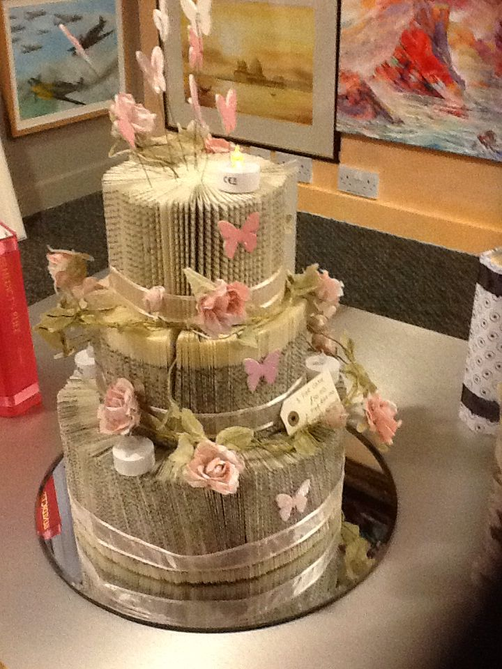 Quot Wedding Cake 3 Tier Quot Book Art Cathy For Sale Or