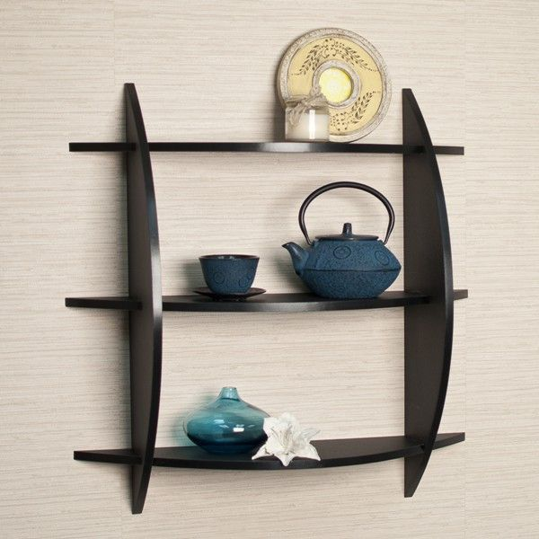 Exceptional LifeEstyle 3 Tire Wall Shelf With Display Rack Photo