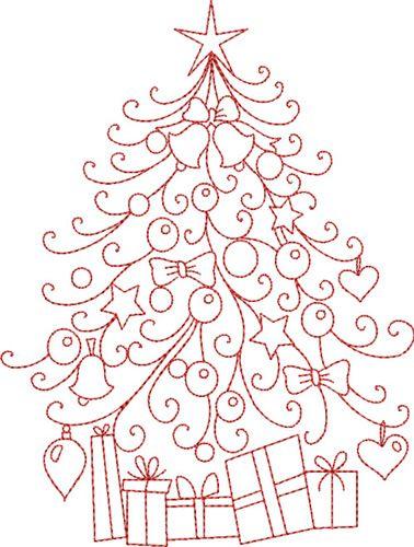 free hand embroidery pattern christmas tree i sew free free