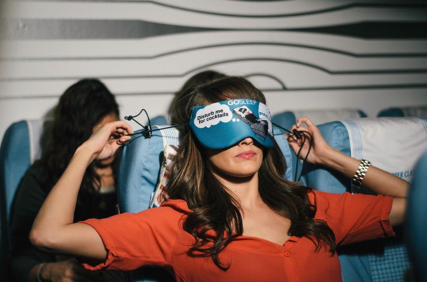 travel pillow sleep mask