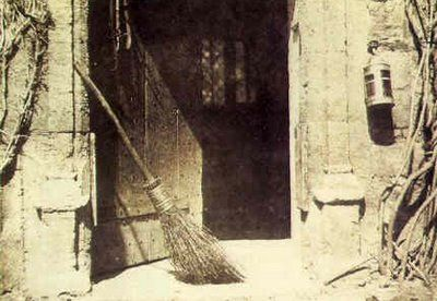 In Norway, traditional belief had it that witches steal brooms on Christmas Eve, and ride around in the sky. So Norwegians would safely tuck away their brooms and mops before sleep that night.