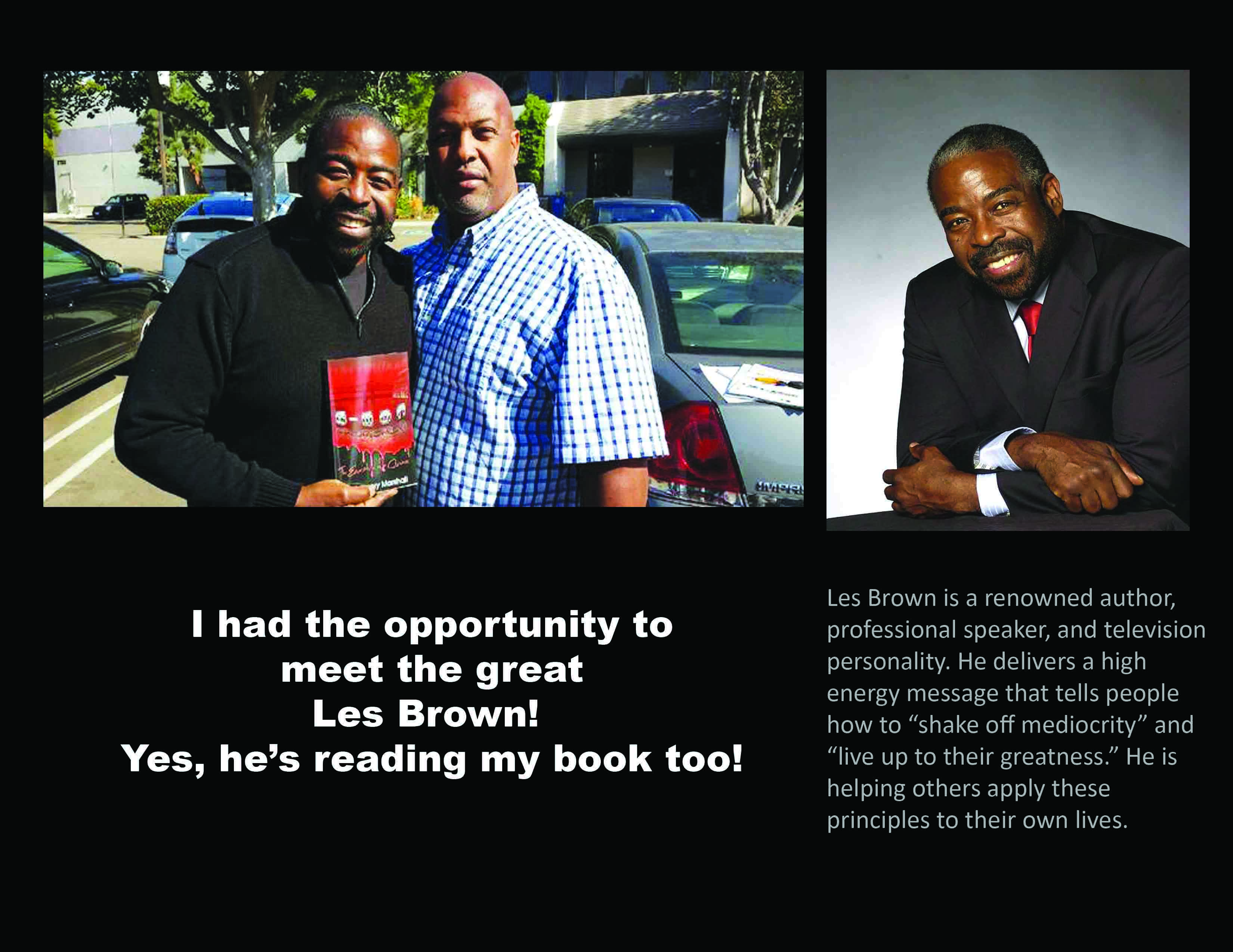 Les Brown and me