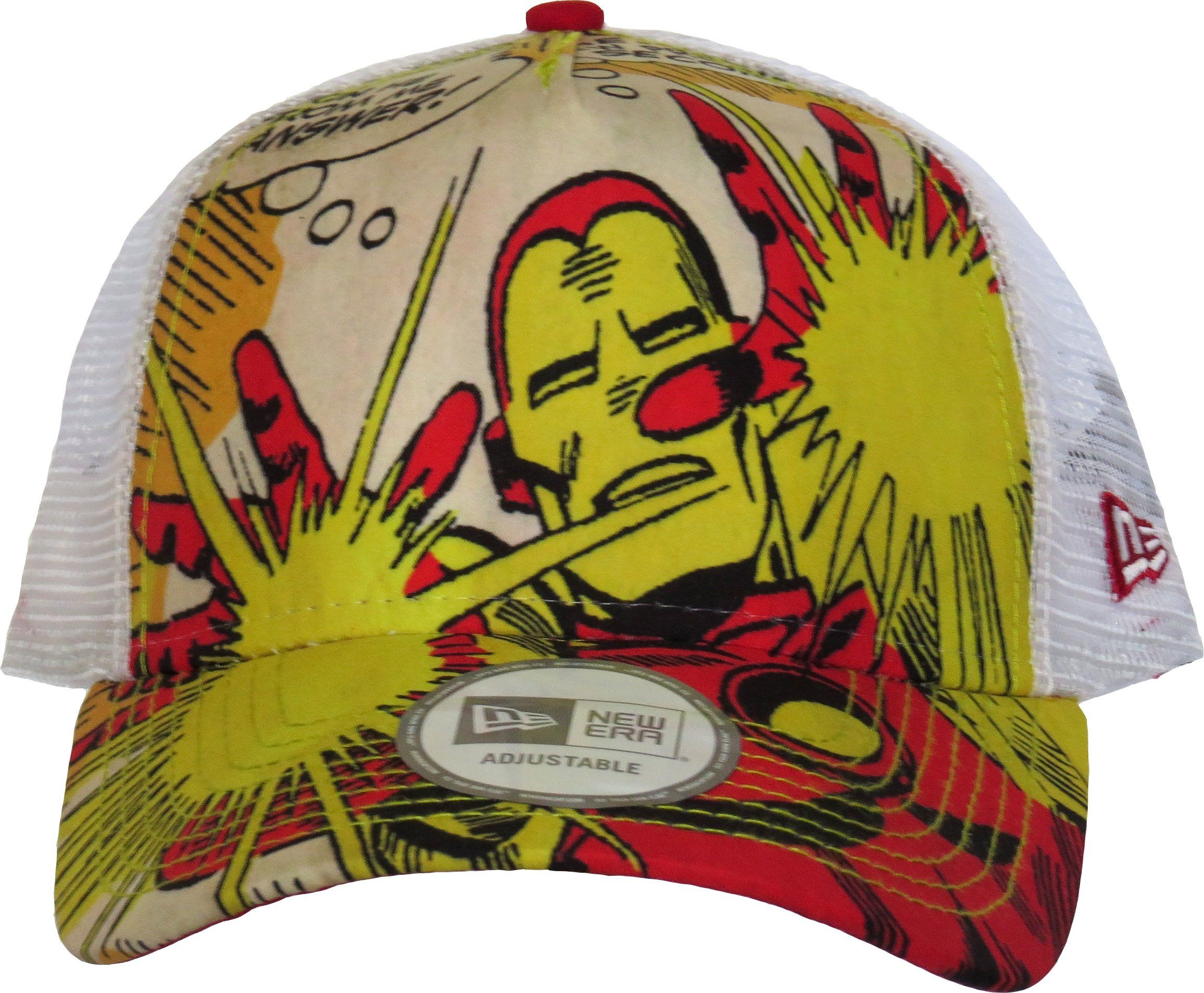 marvel avengers new era trucker cap iron man front image 427cb109c006