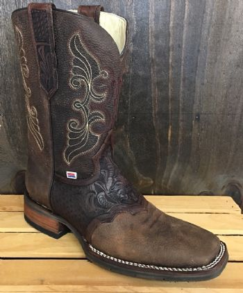 c3336c75705 1127 - RockinLeather Mens Hand Tooled Overlay Western Boot | Mens ...