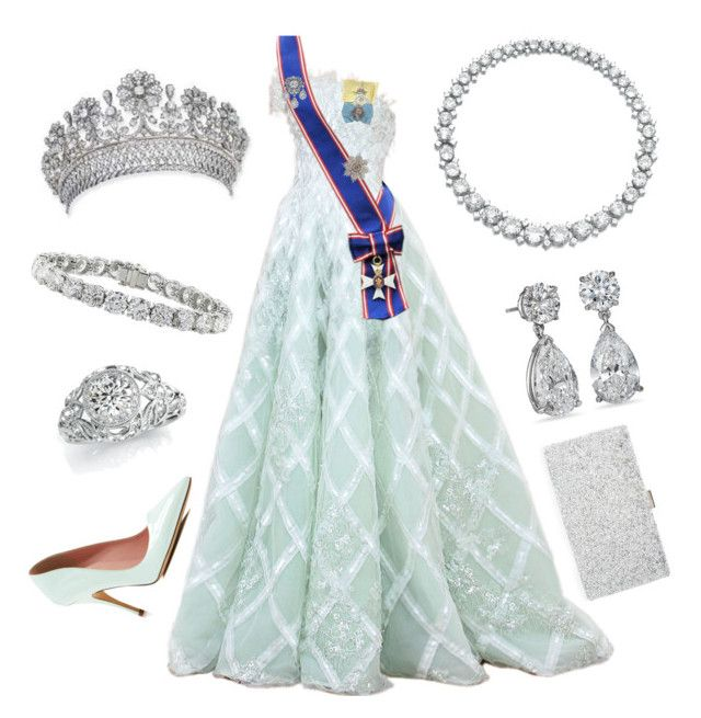 State Dinner by nmccullough on Polyvore featuring Kate Spade, Sondra Roberts and Rami Al Ali