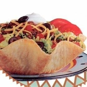 Make Your Own Taco Shells and Bowls  - Everyone loves Mexican food, right? Well, there's no reason to cook a delicious meal and ruin it with a sub-par vessel! Here's how to make your own taco shells and bowls.