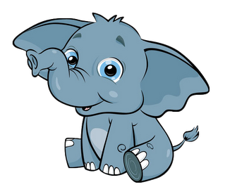 baby elephant clip art awesome graphic library