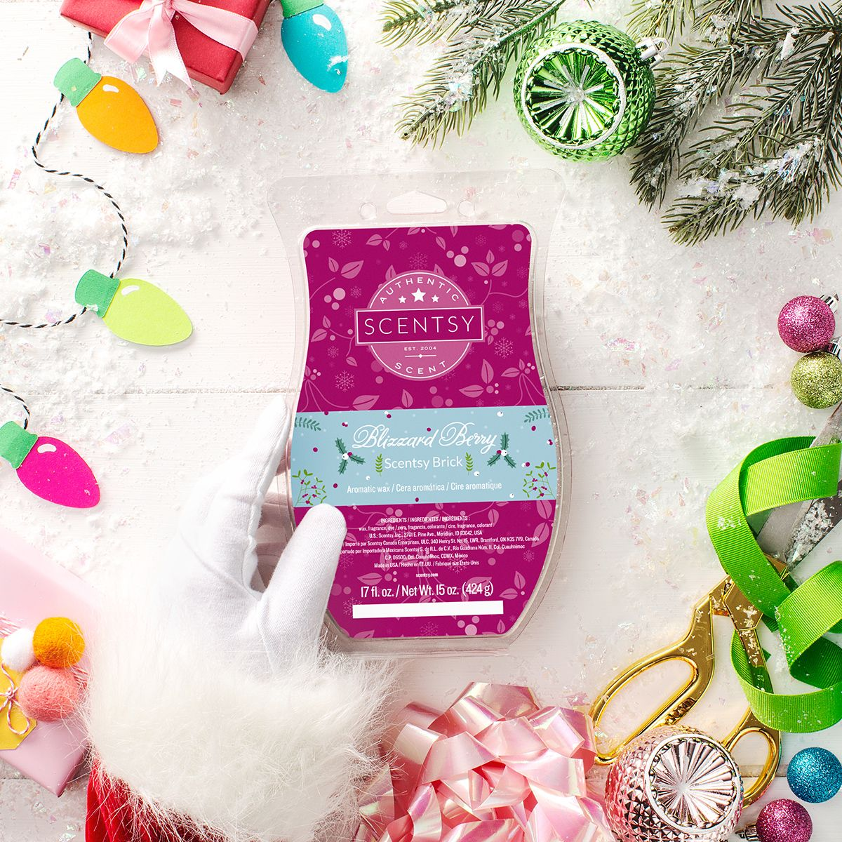 Blizzard Berry Holiday Brick tammyslater scentsy us | Scentsy in