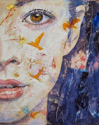 Pinturas Cuadros Pinturas Rostros Femeninos Retratos Modernos Al óleo Surrealismo Abstracto Arte Pintura Pinturas