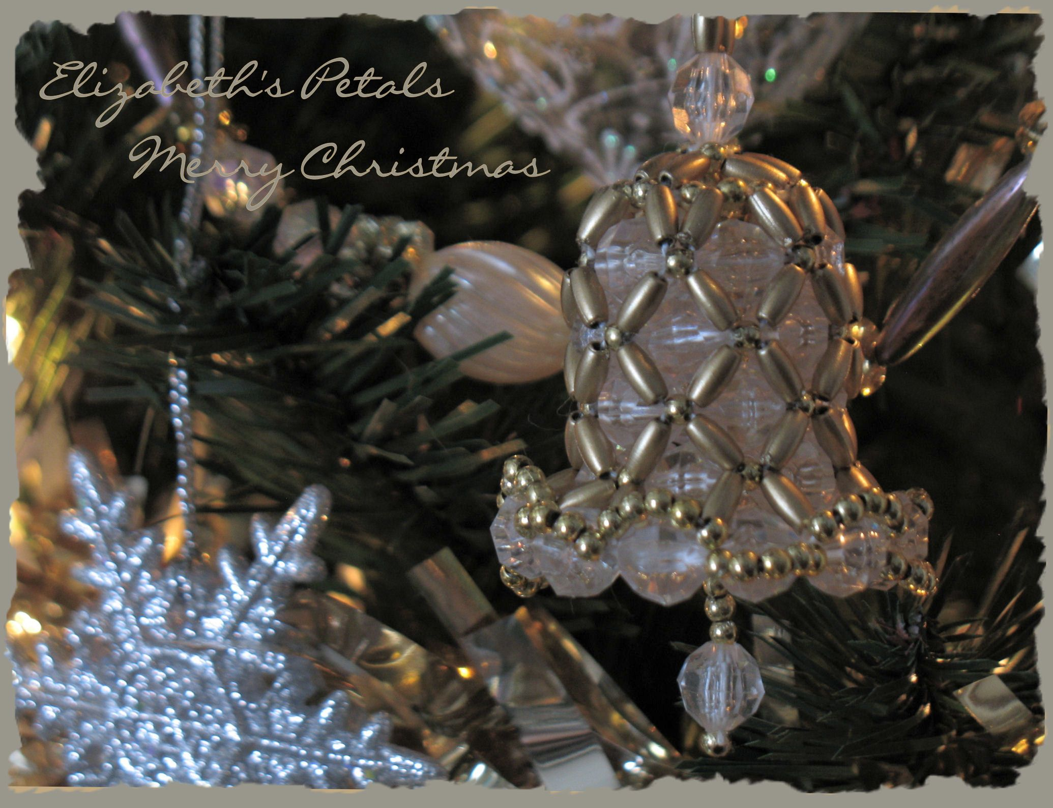 Winter tree: bead weaving 47