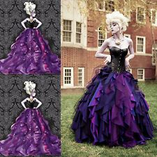 Newest The Little Mermaid Dress Sea Witch Ursula Princess Dress Cosplay Costume & Newest The Little Mermaid Dress Sea Witch Ursula Princess Dress ...