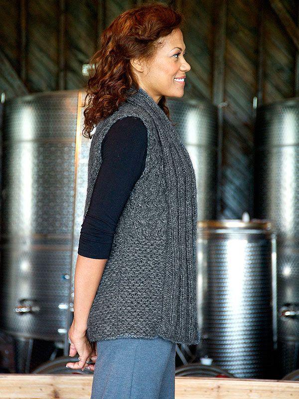 Summer easy knit vest pattern free for women youtube lulu ...