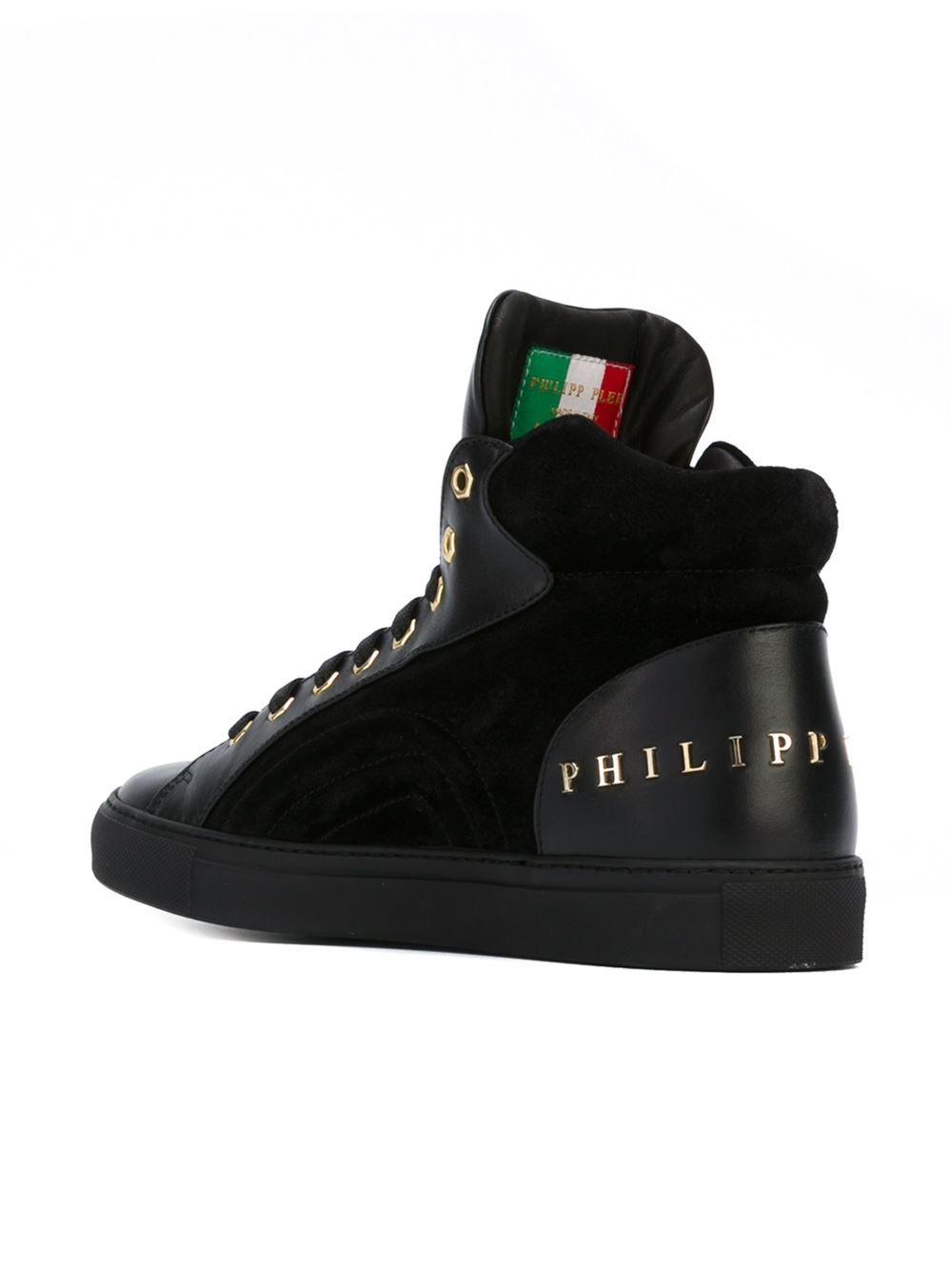 6d24e6f22 Philipp Plein  on  Hi-top Sneakers - O  - Farfetch.com