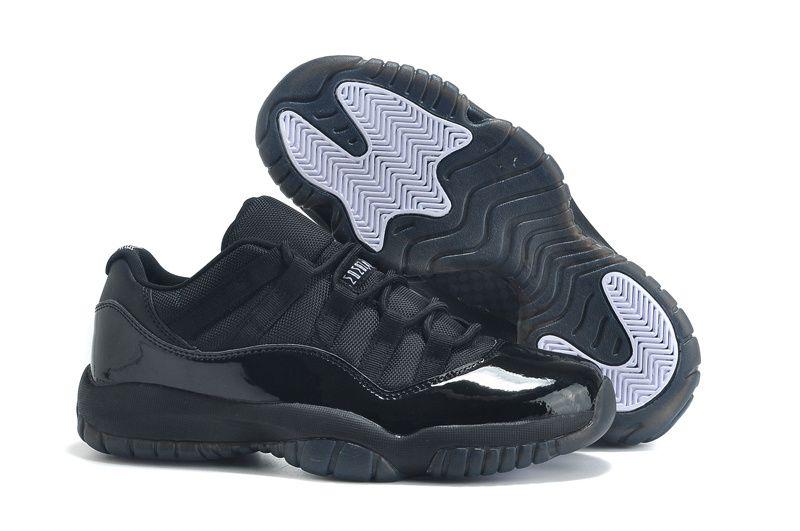 82eae5cd085c Air Jordan 11 Low Cut All Black Lovers Shoes | Jordan's in 2019 ...