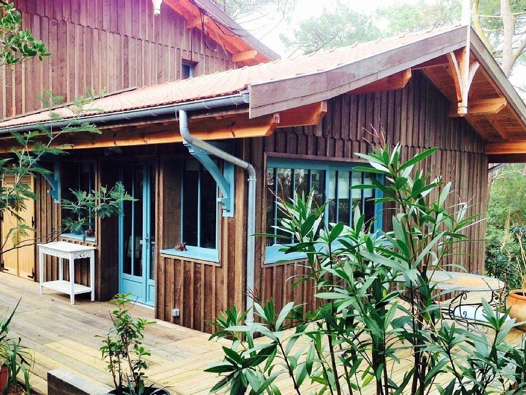 location vacances la cabane mimbeau l ge cap ferret my nomad family cabanes chalets. Black Bedroom Furniture Sets. Home Design Ideas
