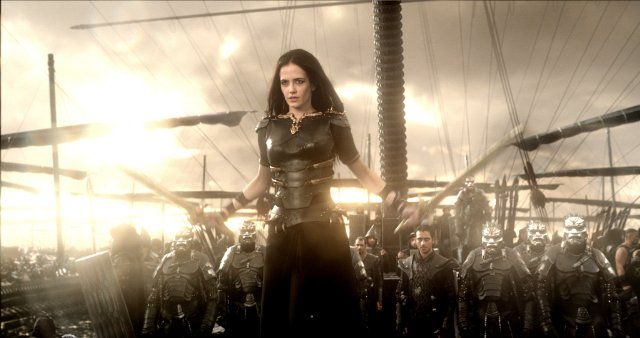 Admiral Artemisia Portrayed By Eva Green In 300 Rise Of An