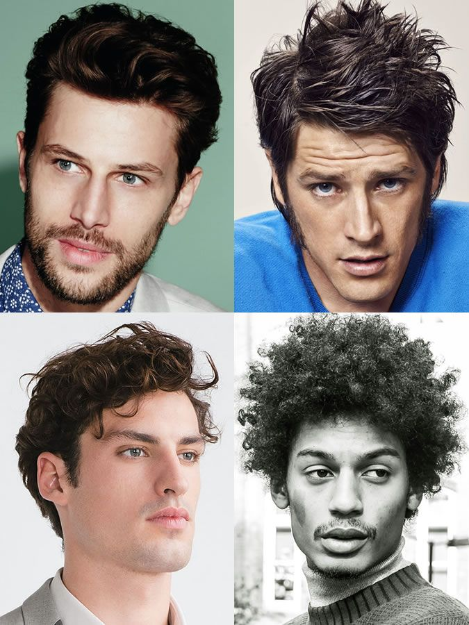 Triangle Face Hairstyles Men