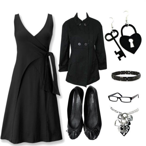 U0026quot;Oliviau0026#39;s Funeral clothesu0026quot; by serious-strawberry on Polyvore | Style...for Funeral | Pinterest ...