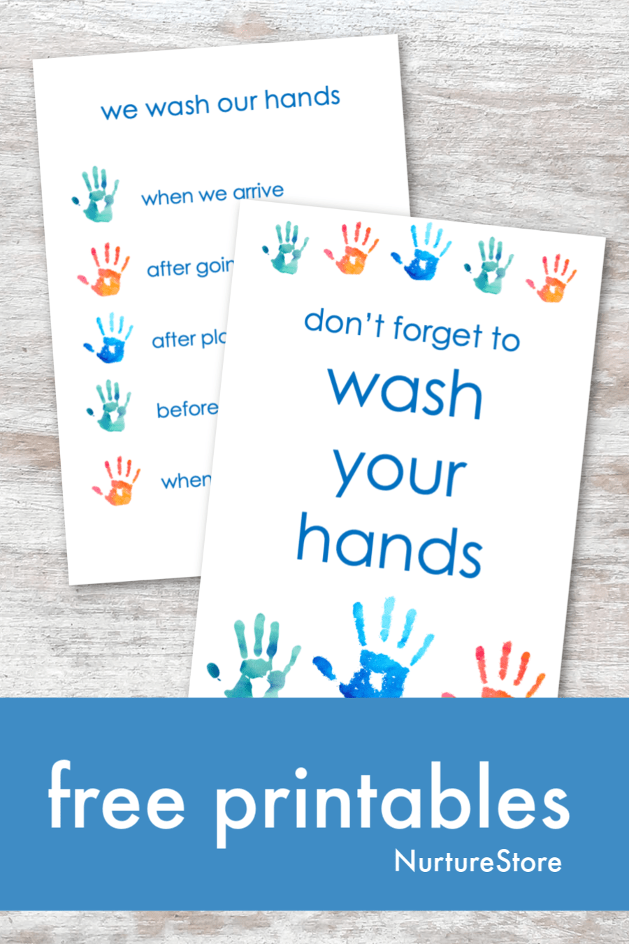 Free Printable Hand Washing Poster And Guide For Children Nurturestore Hand Washing Poster Free Printables Wash Hands Printable [ 1350 x 900 Pixel ]
