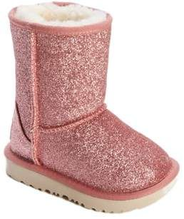 881fa6bc3f97 Toddler Girl's Ugg Classic Short Ii Glitter Boot, Size 6 M ...