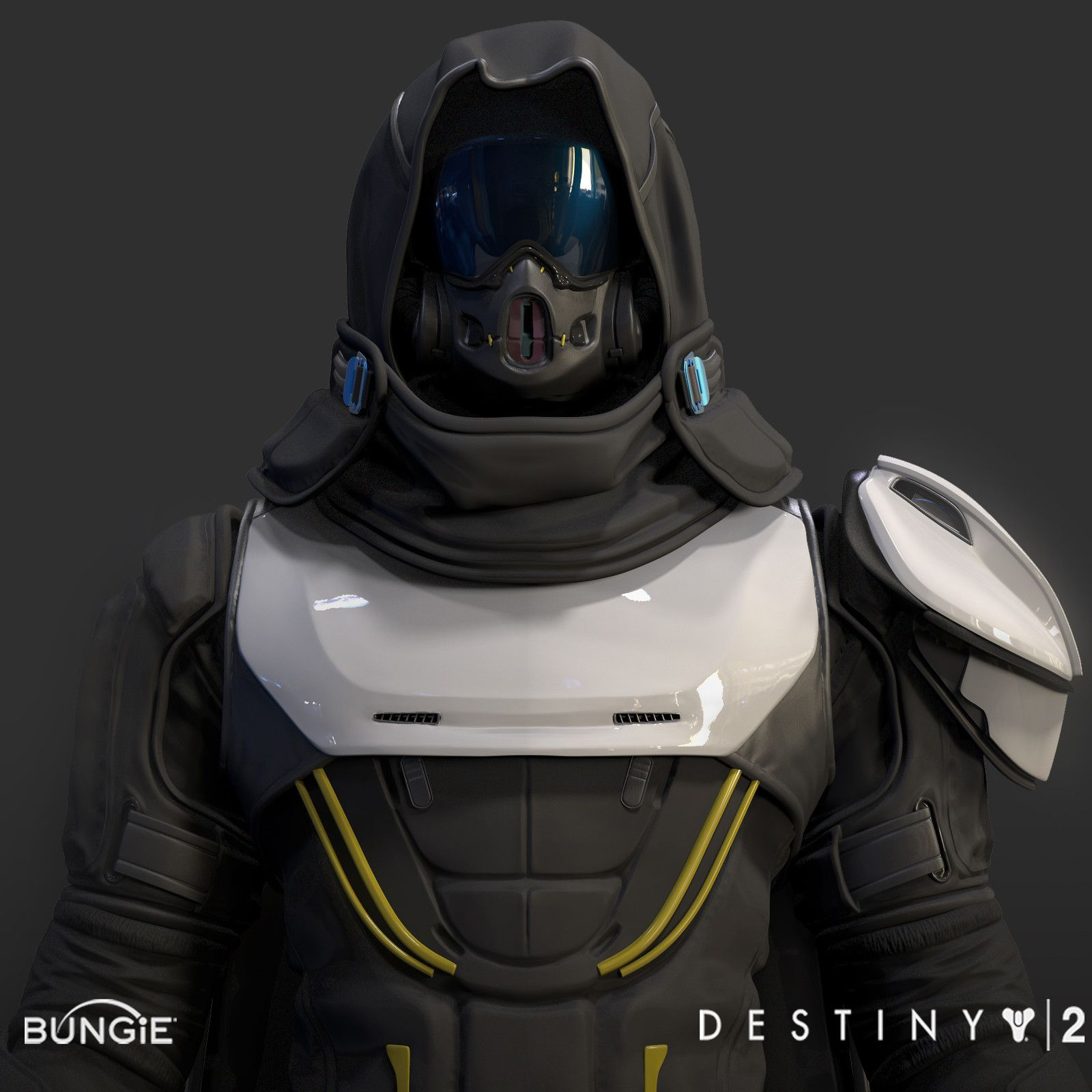 Artstation Destiny 2 Titan Armor Sets Kieran Baker - Year of