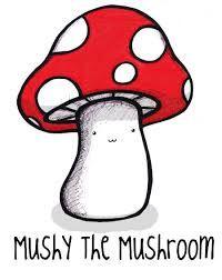 Resultado de imagem para mushrooms drawings