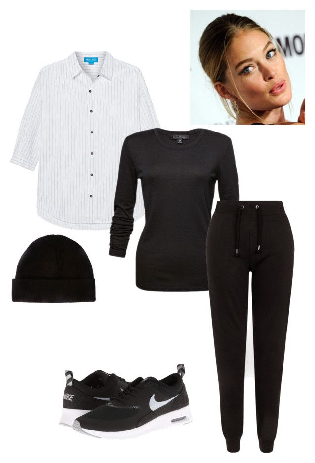 """Untitled #190"" by yasminabuwi on Polyvore featuring M.i.h Jeans, New Look and NIKE"