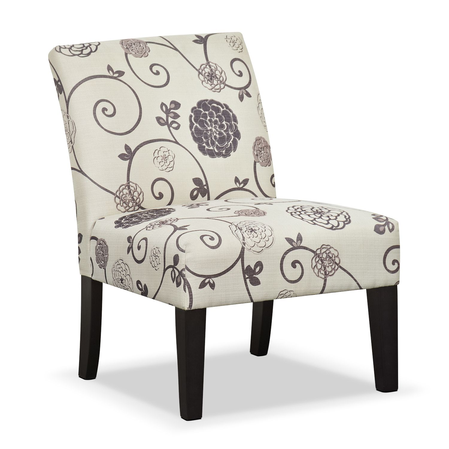 Wylie Upholstered Side Chair - Floral | Side chair, City furniture ...