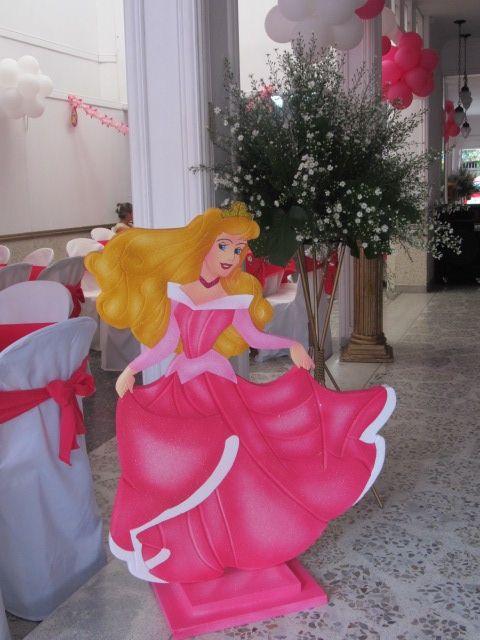 decoracin princesa aurora para cumpleaos