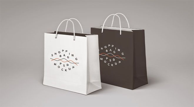 Download Shopping Bag Psd Mockup Bag Mockup Free Packaging Mockup Mockup Psd