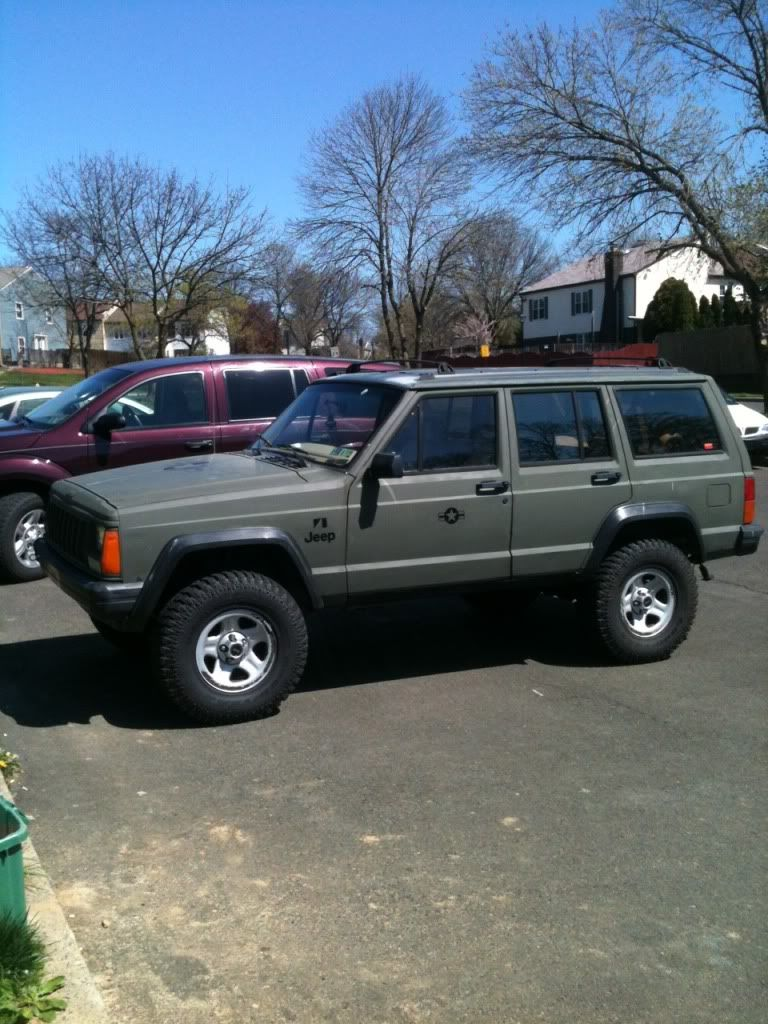 The Spray Rattle Can Paint Job Xj Army Post Up Page 2 Jeep