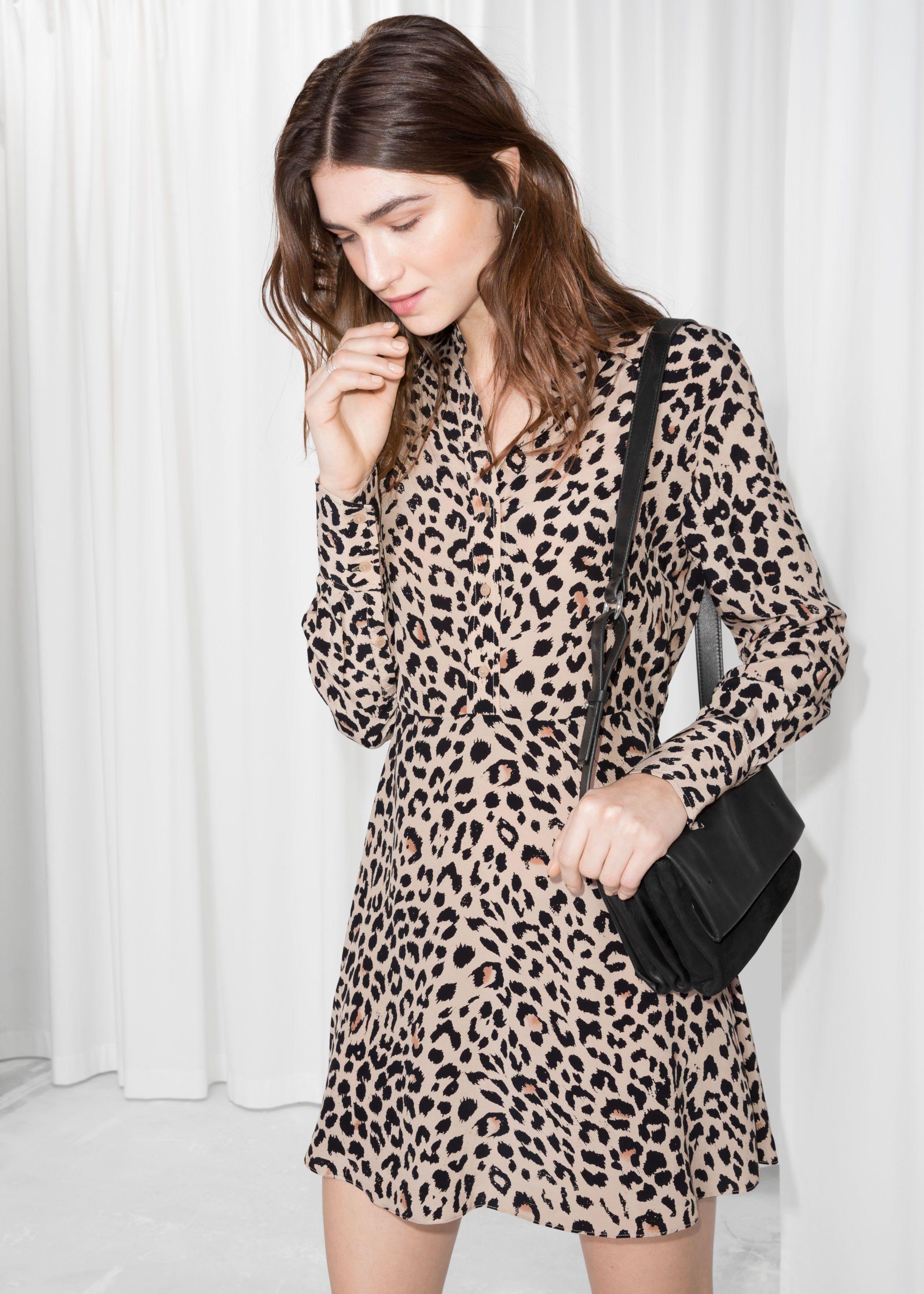 5d91caa31e   other stories leopard print shirt dress. 69 eur