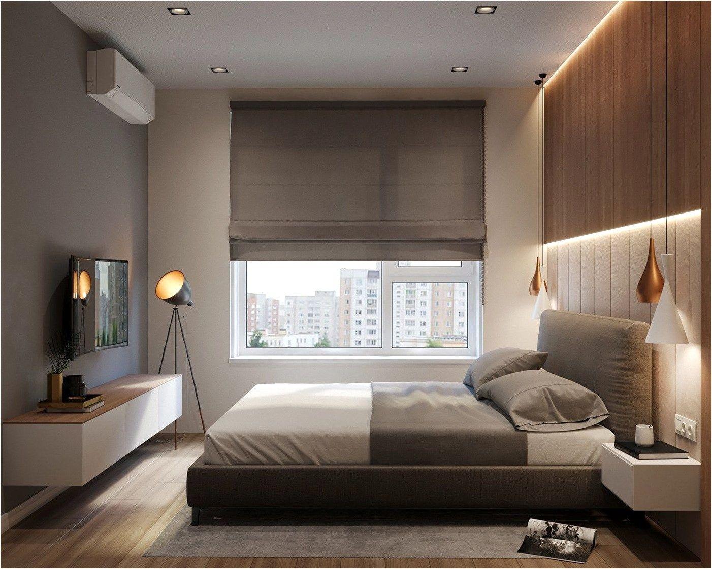 Deco Chambre Contemporaine Meuble Bois en 19  Dormitorio de