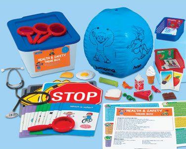 Health & Safety Theme Box | Health, safety, Kids health ...