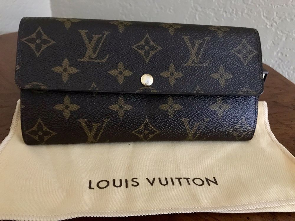 6a1f017abeda Authentic LV Monogram Womens Wallet  fashion  clothing  shoes  accessories   womensaccessories  wallets (ebay link)