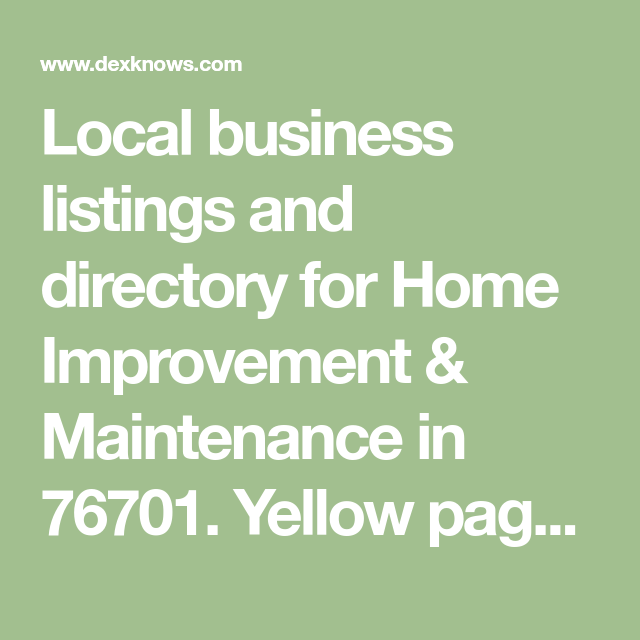 Local business listings and directory for Home Improvement ... on maps maps and directions, bing maps and directions, yellow pages find people, internet maps and directions,