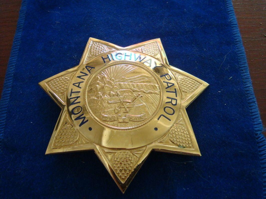 Police cap badges ga rel hat badges page 1 garel - Montana Highway Patrol Badge