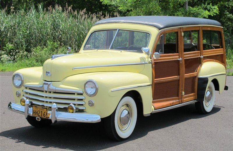 '47 Ford Columbia Rear Super Deluxe Vehiculos