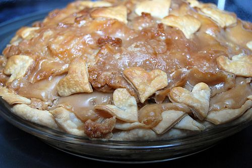 T - Apple pie done by Sweetnicks, via Flickr