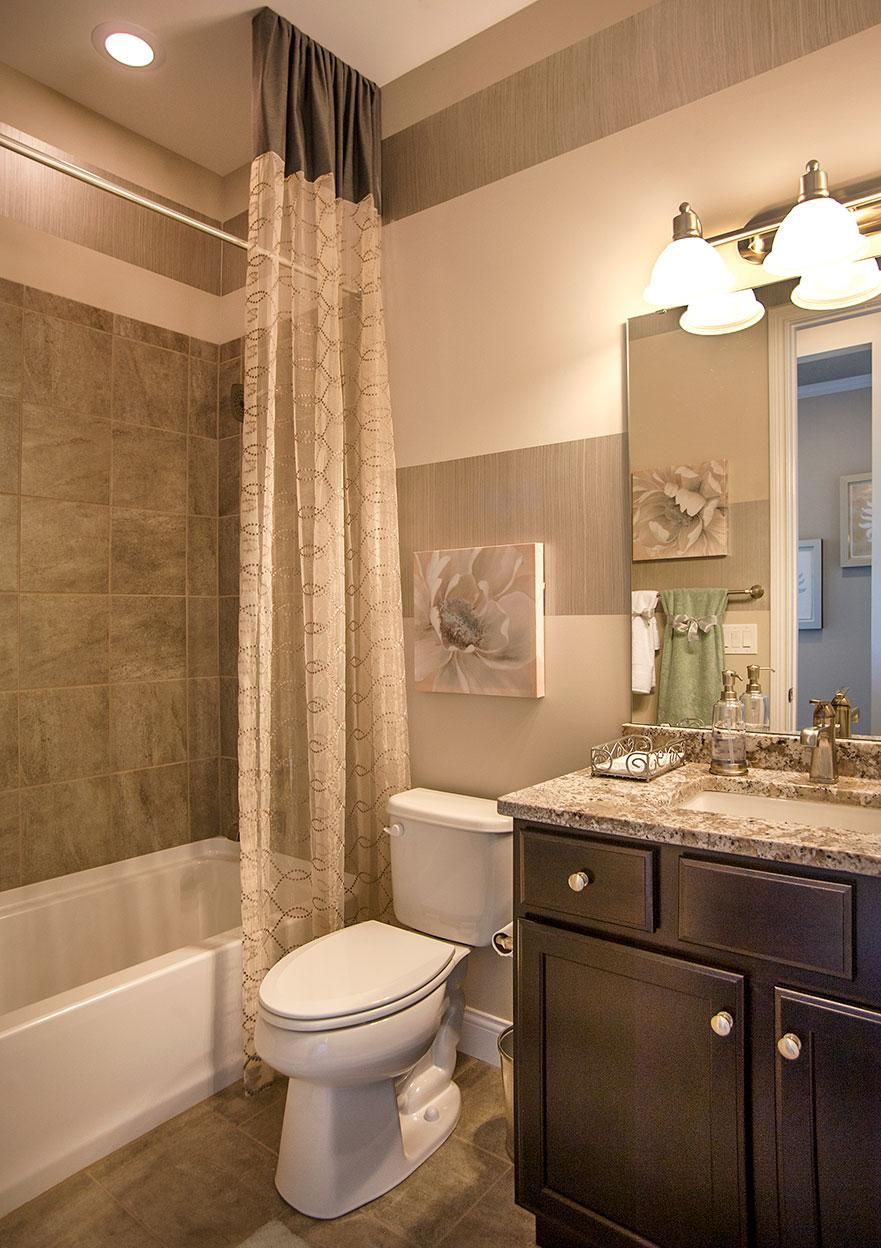 Full Bath Brown Bathroom Decor Bathrooms Remodel Guest Bathrooms