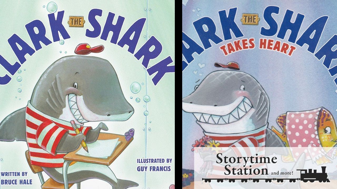 clark the shark book series by bruce hale books for kids read