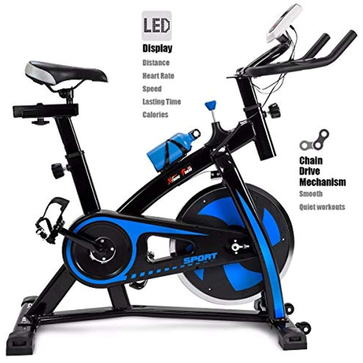 Orchid Prime Cycling Fitness Gym Bicycle Exercise Stationary Bike