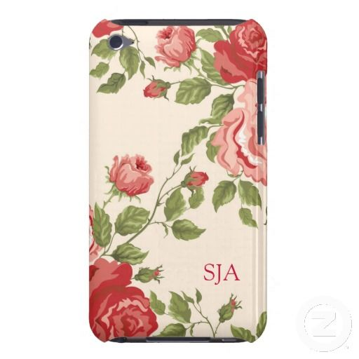 Old-Fashioned Roses Design iPod Touch Case
